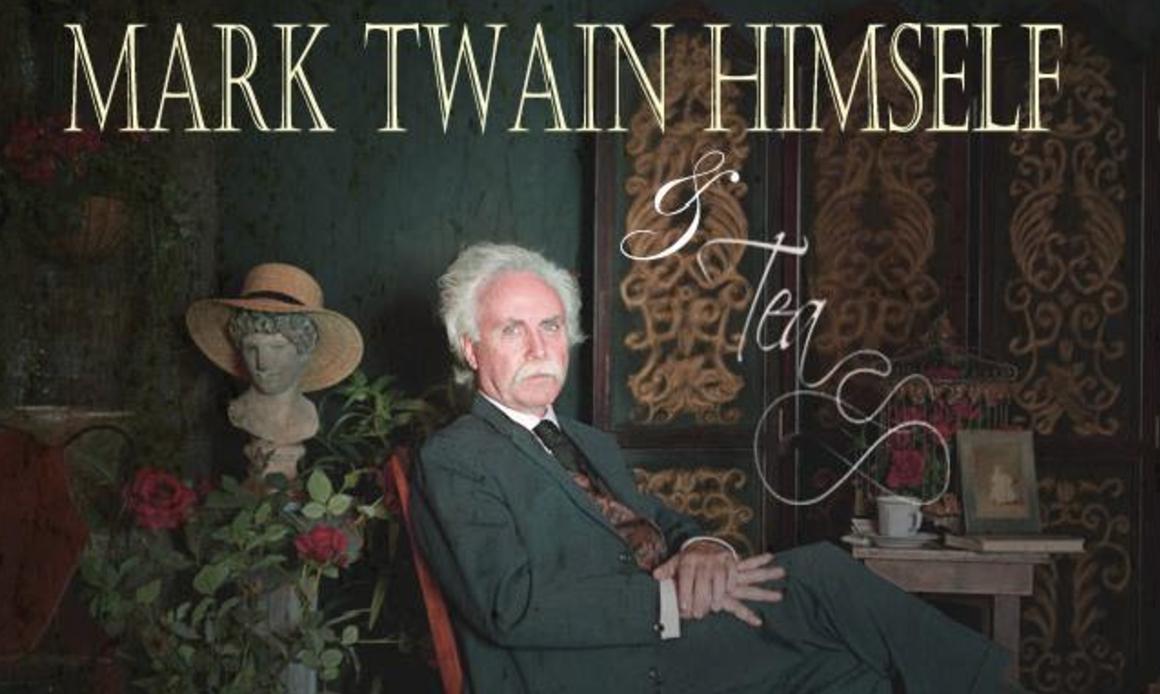 Richard Garey's Mark Twain Himself Live Show | Visit Hannibal