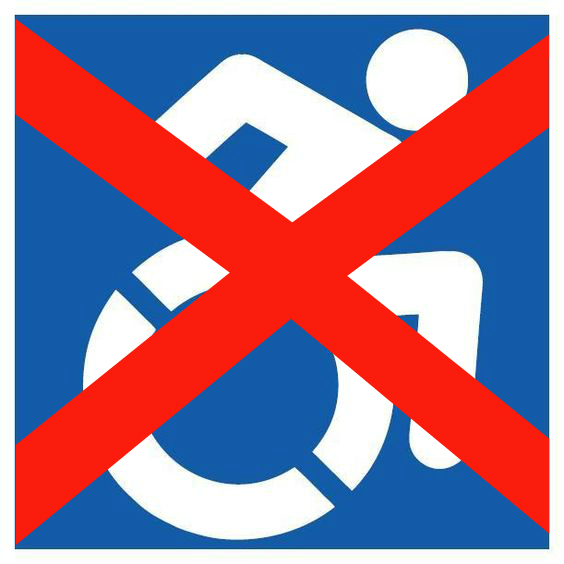 not handicap