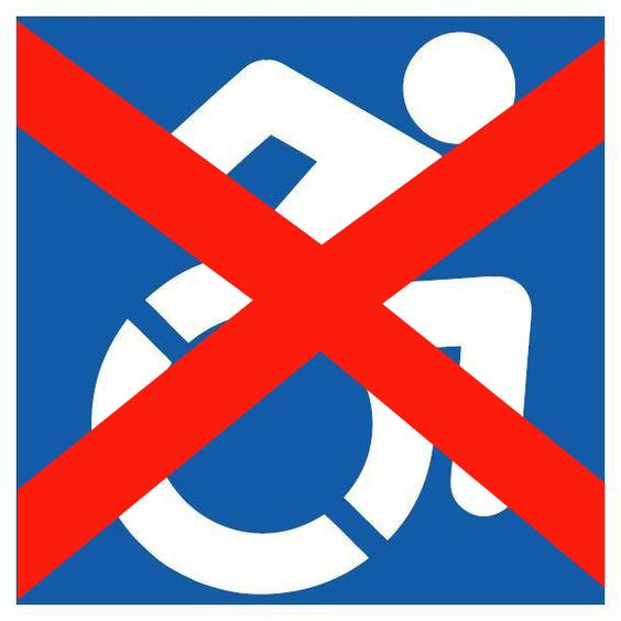 not handicap