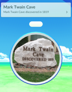 The Cave is a Pokestop!
